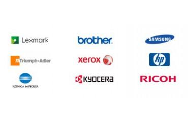 Znani producenci drukarek laserowych.