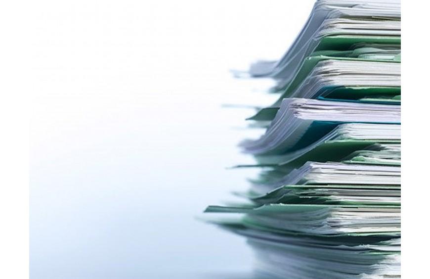 Zacięty papier w drukarce