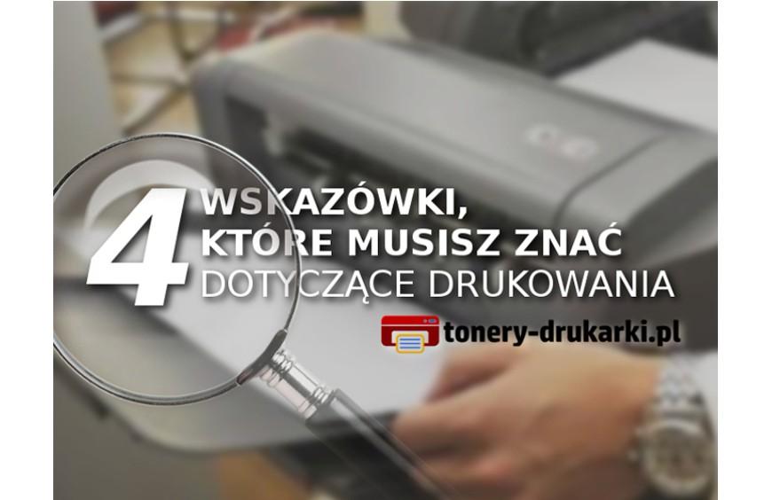 4 triki, które ułatwią używanie drukarki