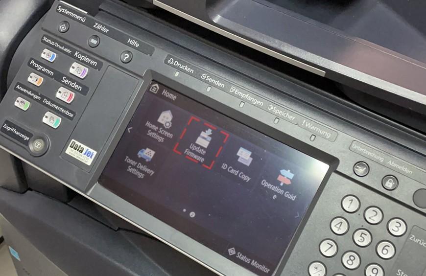 Aktualizacja oprogramowania a drukarka